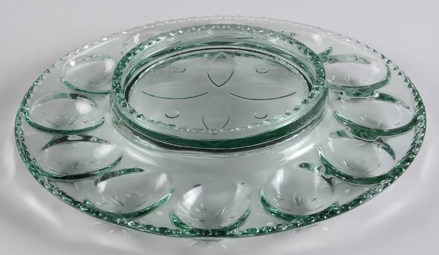 an egg plate