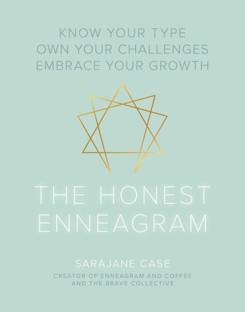 The cover of The Honest Enneagram, by Sarajane Case.