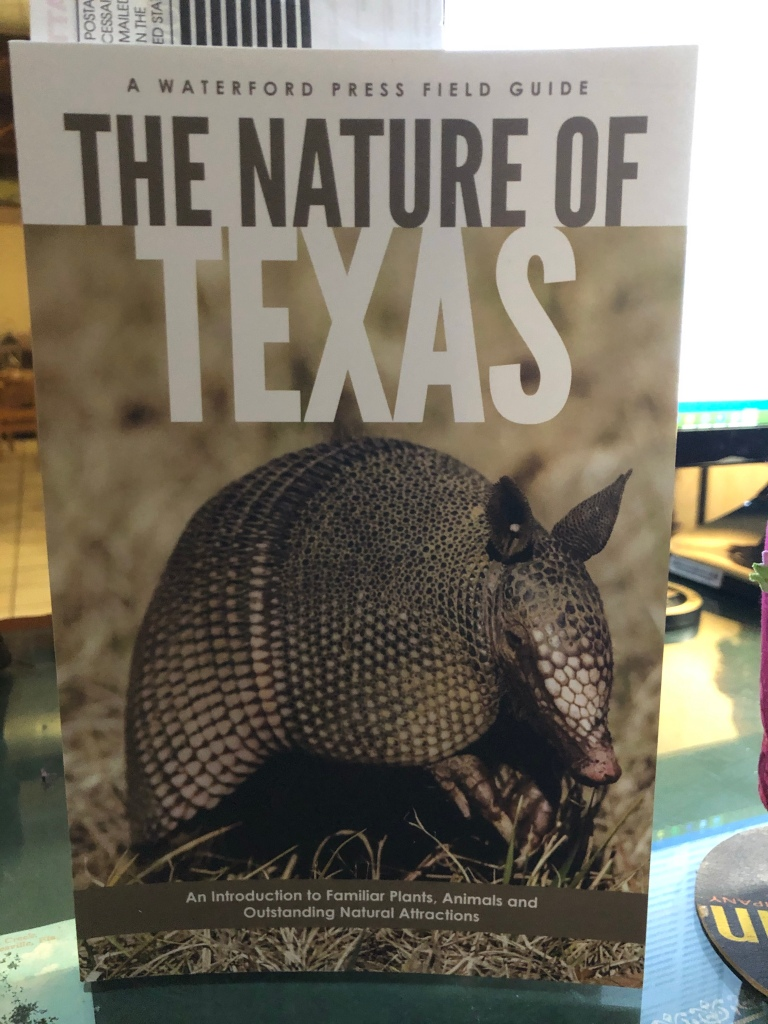 The cover of the book, The Nature of Texas