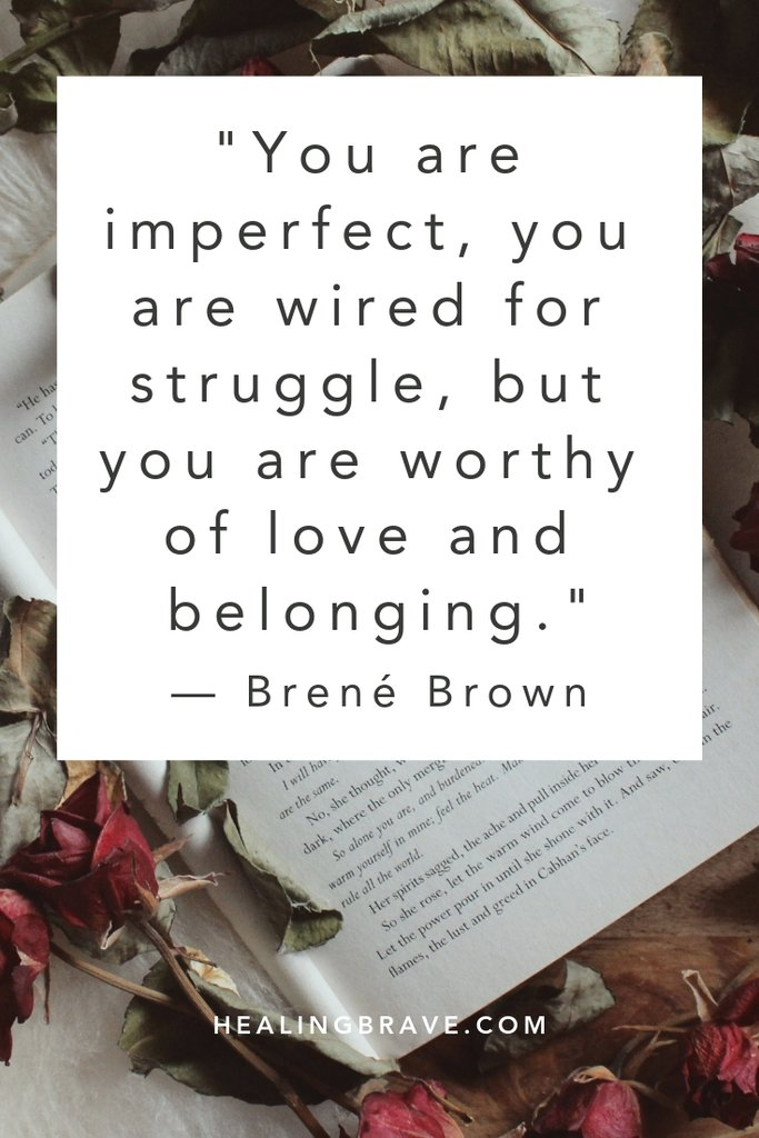 quote from Brene Brown